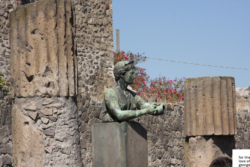 Travels in Italy: Pompeii; on For the Love of George