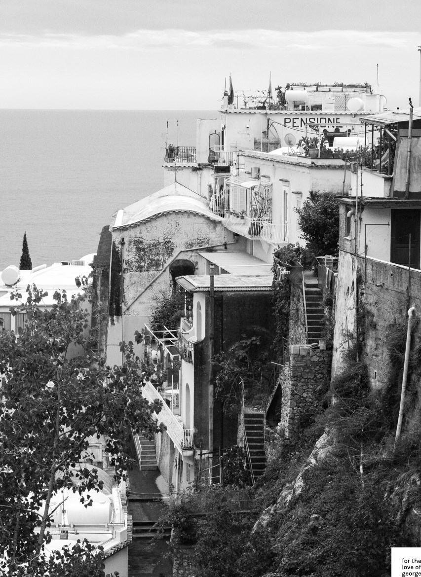 Travels in Italy: Positano; on For the Love of George