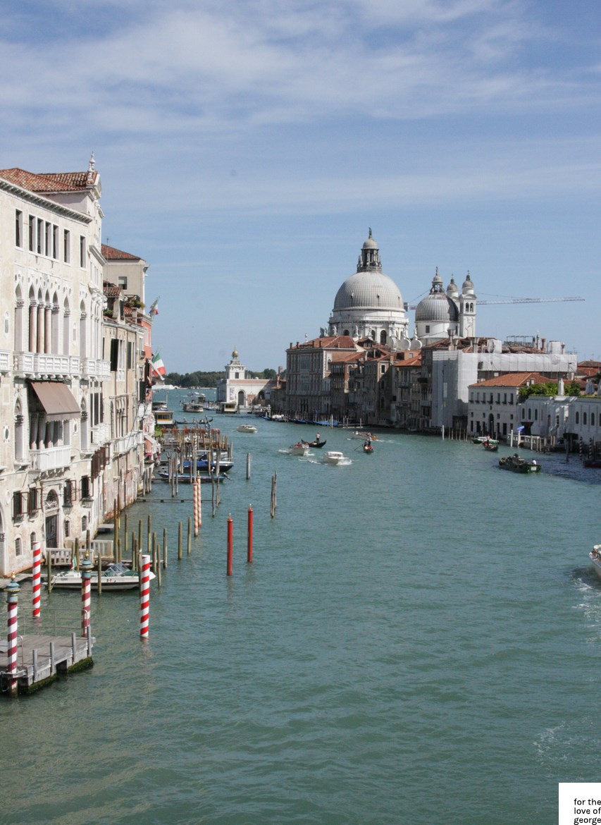 Travels in Italy: Venice; on For the Love of George