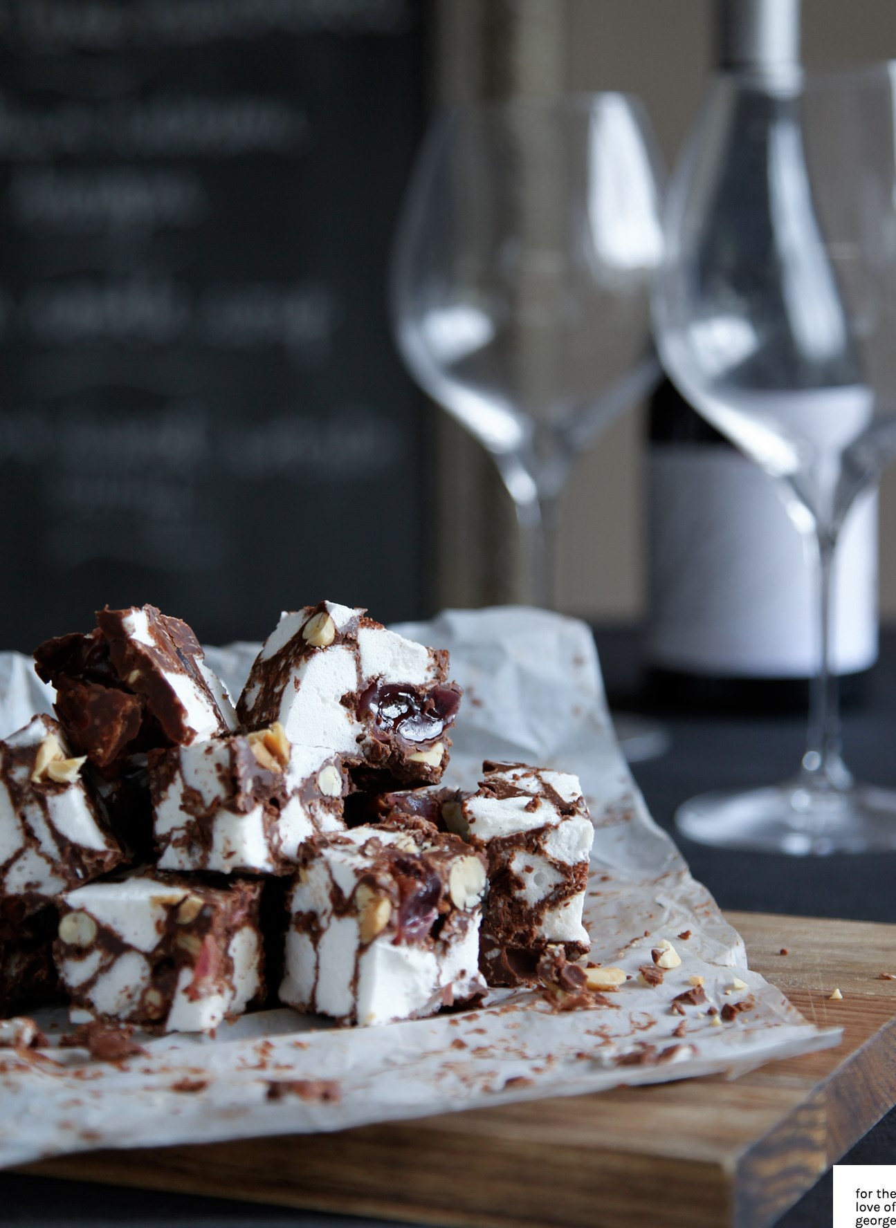 Rocky Road recipe on For the Love of George