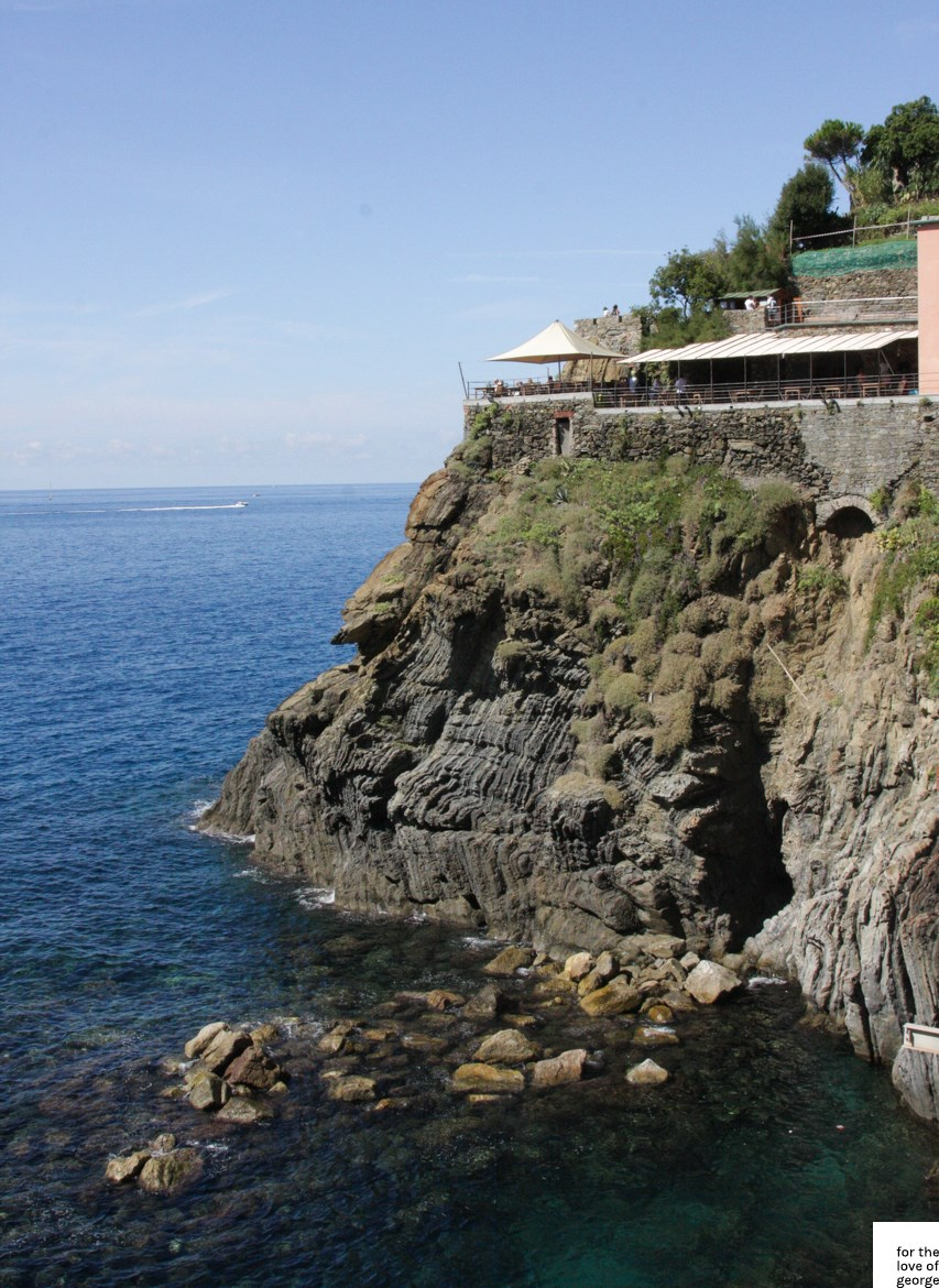 Corniglia to Manarola to Riomaggiore: travels in Italy on For the Love of George