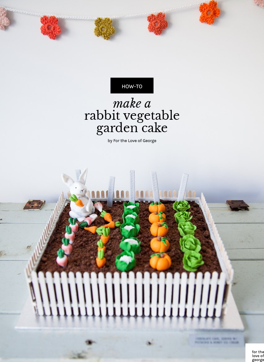 A vegetable garden a rabbit can love vegetable gardener.