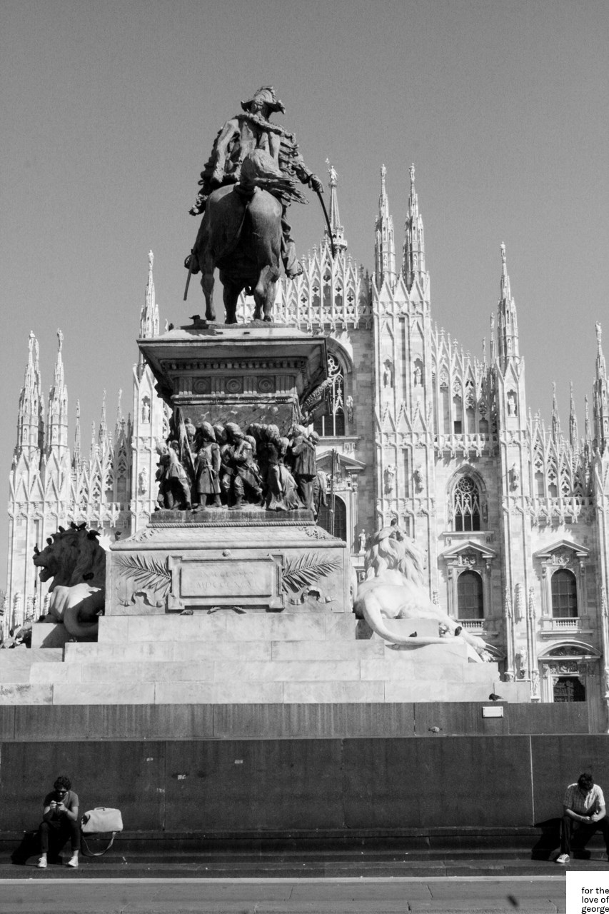 Travels in Italy: last stop, Milan; on For the Love of George